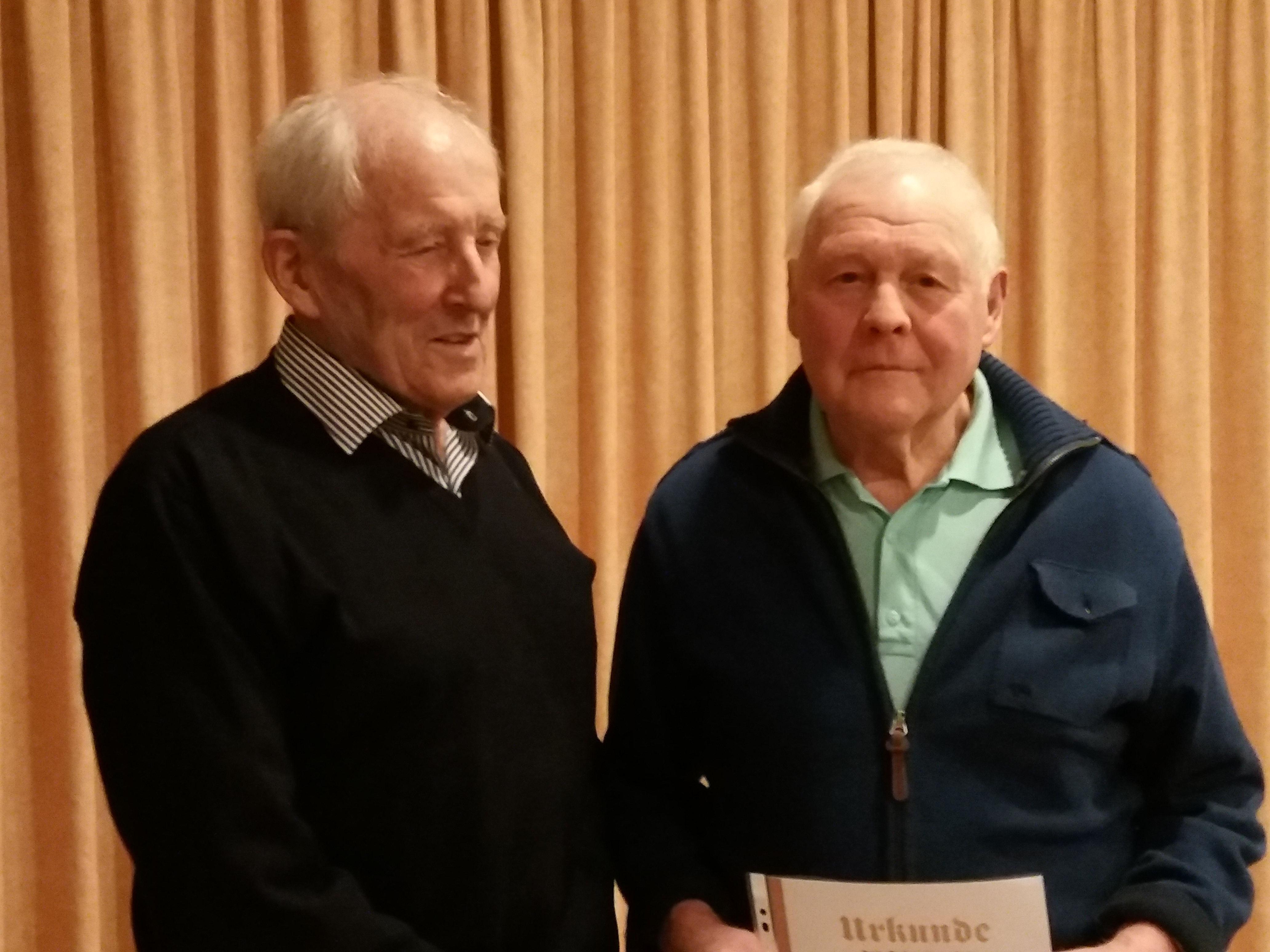 Senioren Jahreshauptversammlung